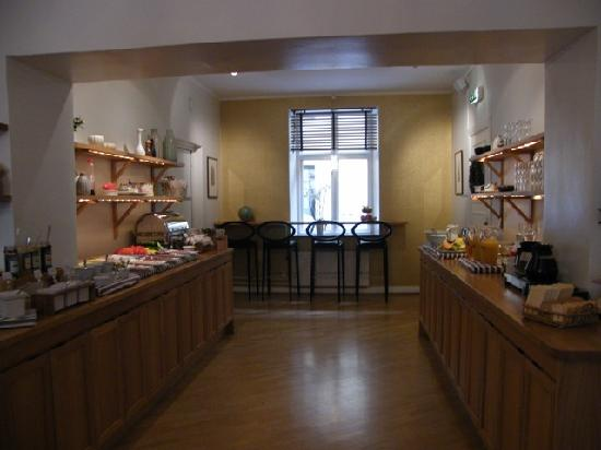 Hotel Royal Gothenburg: the breakfast area...