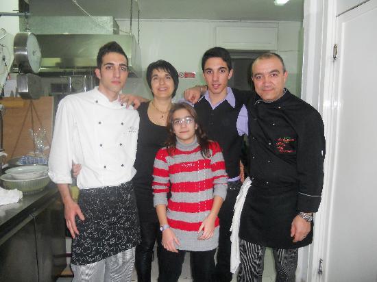 Hotel La Collinetta: La mia Famiglia