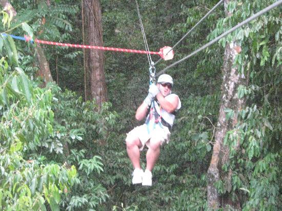 Jaital: lots of fun on the zipline