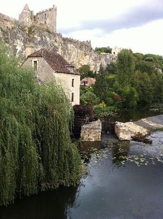Le Relais du Lyon d'Or: Le chateau et l'Anglin