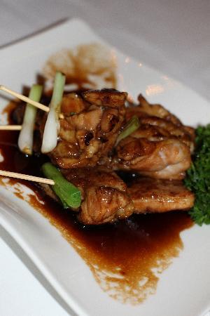 Mesa 18 Restaurante by Toshiro: Chicken Croquettes - AMAZING sauce