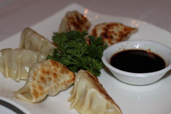 Mesa 18 Restaurante by Toshiro: Pork and Shrimp Dumplings