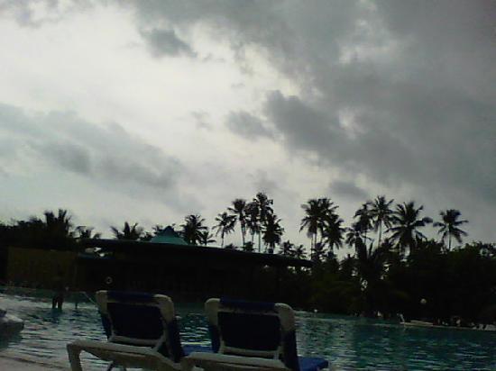 Dreams La Romana Resort & Spa: Irene hung around for 3 days