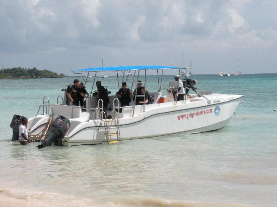 Dreams La Romana Resort & Spa: Dive boat