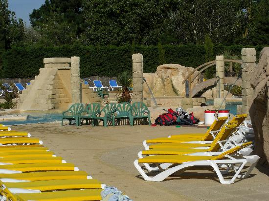 Camping Acapulco: New addition pool area