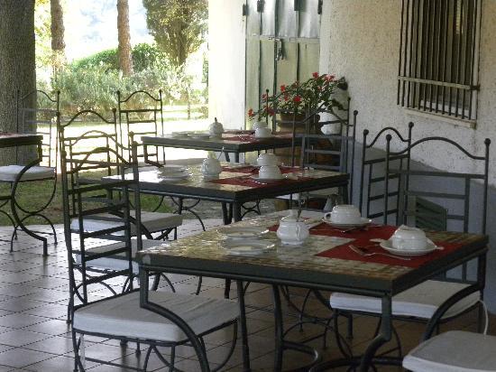 Ghiaccio Bosco: veranda