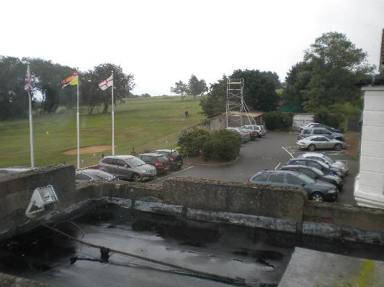 The Links Country Park Hotel & Golf Club: Hotel Car Park