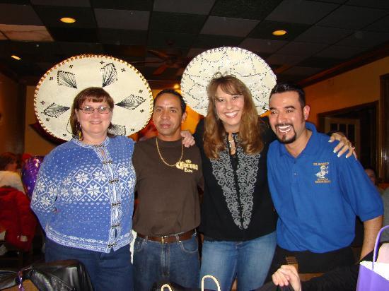 El Rodeo Mexican Restaurant: Great special celebration!