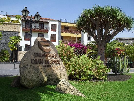 Dream Hotel Gran Tacande: Detalle de la entrada al hotel