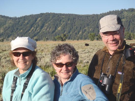 Wildlife Expeditions of Teton Science Schools: Watching the bison