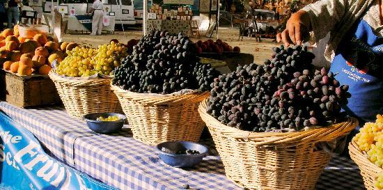 เดวิส, แคลิฟอร์เนีย: Fresh produce at the Davis Farmers Market