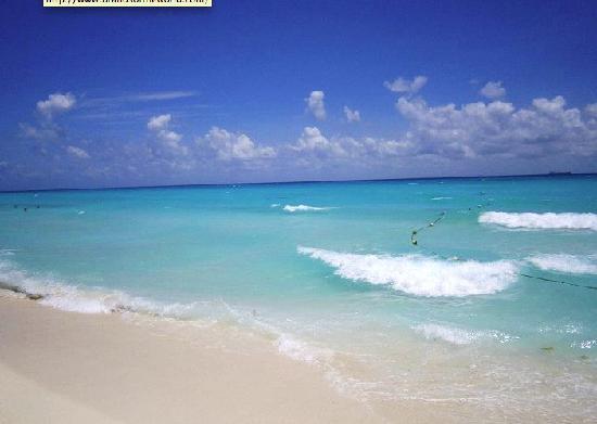 Allegro Playacar: spiaggia davanti al villaggio....non ci sono parole!