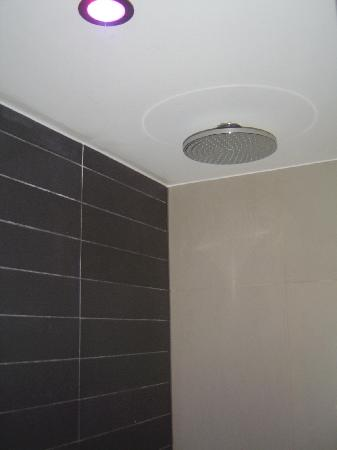Sofitel Brussels Le Louise: Rainfall shower head