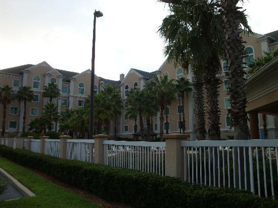 Hawthorn Suites by Wyndham Orlando Lake Buena Vista: Side garden, Hawthorn Suites