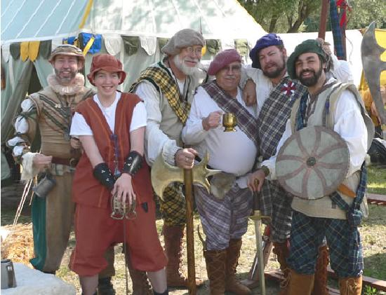 Woodland, CA: Revelers at the annual Scottish Games