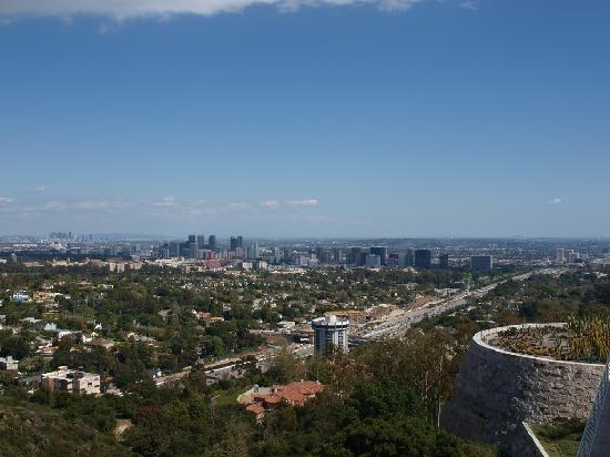 เดอะ เกตตี เซนเตอร์: Blick auf L.A.