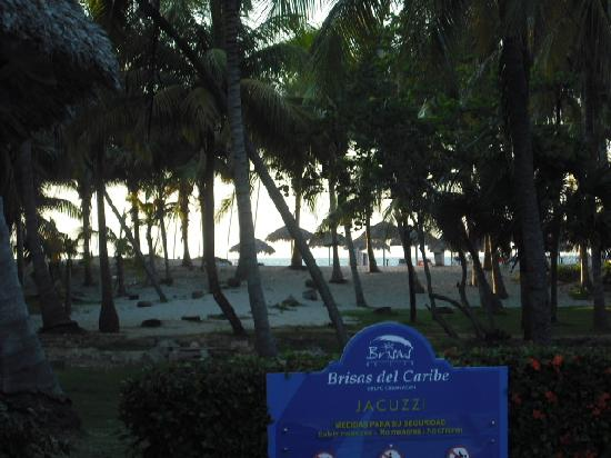 Brisas del Caribe Hotel: to the beach