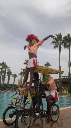 Sahara Beach Aquapark Resort: 3 members of the animation team