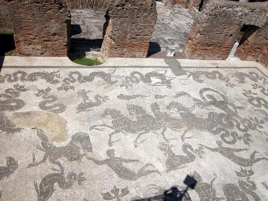 Parco Archeologico di Ostia Antica: Baths of Neptune
