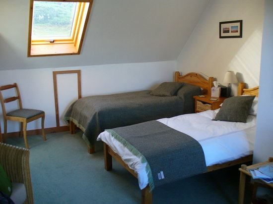 guest room at The Old School House