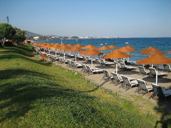 Sheraton Rhodes Resort: la plage
