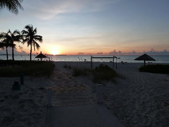 Club Med Turkoise, Turks & Caicos: Couché de soleil
