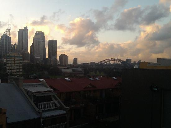 Holiday Inn Potts Point - Sydney: the view from our room