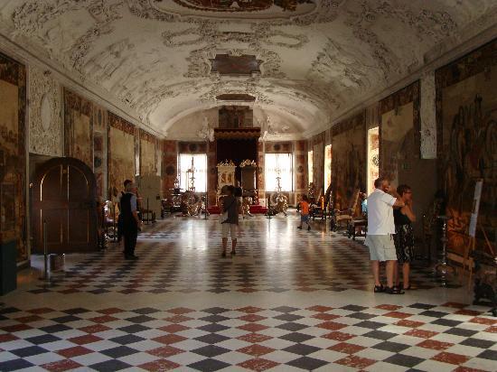 ปราสาทโรเซนเบิร์ก: Throne Room