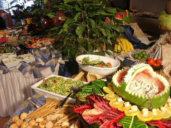 Hotel Oro Verde Manta: Frutas y verduras