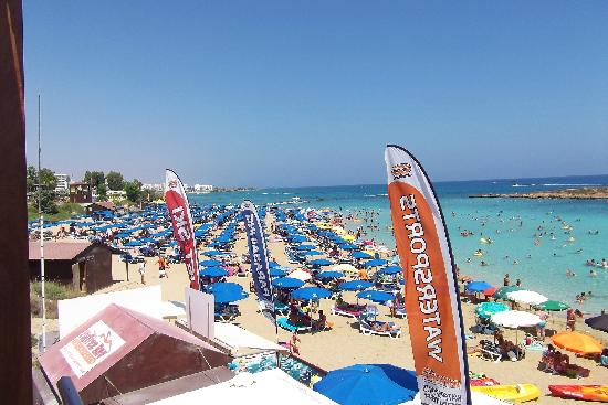 Fig Tree Bay: Get down there early