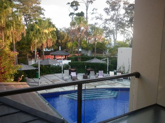 Grand Mercure Allegra Hervey Bay: view from balcony