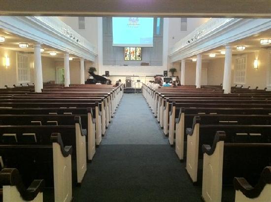 First Baptist Church: Sanctuary