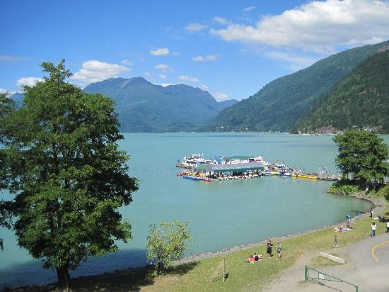 Harrison Hot Springs Resort & Spa: view