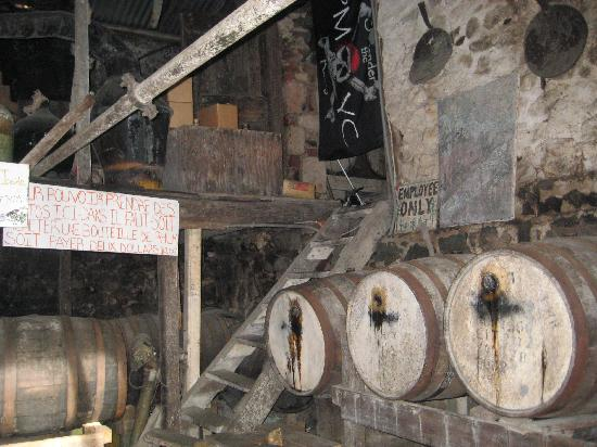 Callwood Distillery: Callwood Aging Barrels