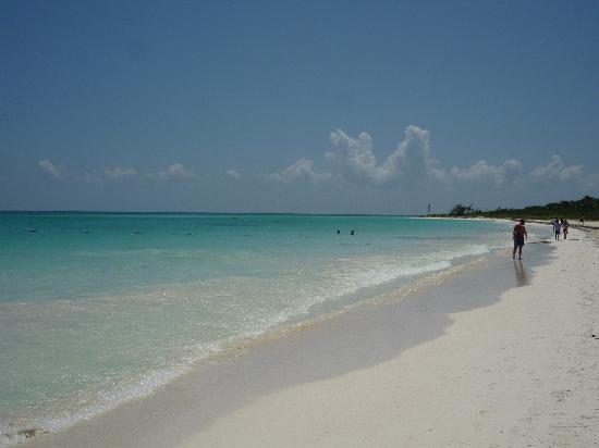 ซีเคร็ทส์โมราม่าบีช รีเวียร่า แคนกุน: Soft powdery white sand beach.