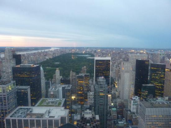 จุดชมวิวท็อปออฟเดอะร็อค: Central Park