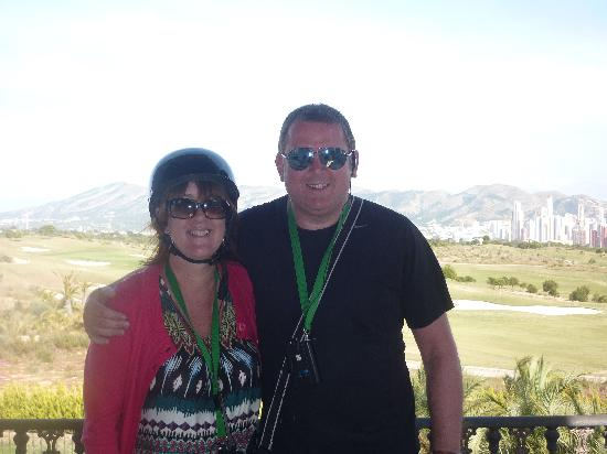 Camposol: me and the missus