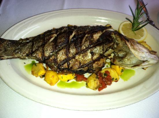 Della Notte Ristorante: Grilled Rockfish
