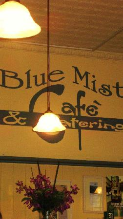 Interior Blue Mist Cafe, Wentworth Falls NSW