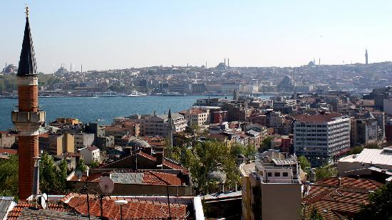 Witt Istanbul Suites: The view