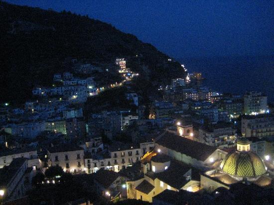 B&B Palazzo Cocò: The view from my solarium at night