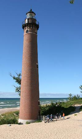 Dunes Waterfront Resort: Little Sable Point Lighthouse.