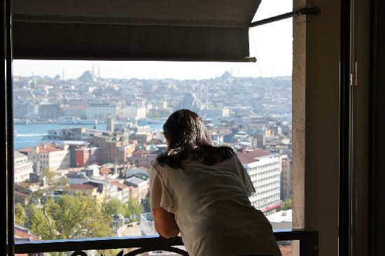 Witt Istanbul Suites: Watching the sun come down