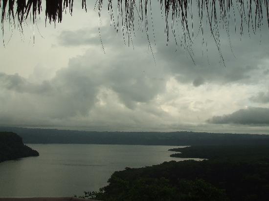 Bucanero: view of lagoon
