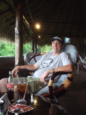 Bucanero: relaxing in the lounge