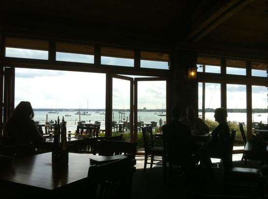 Apache Trout Grill: What a view!
