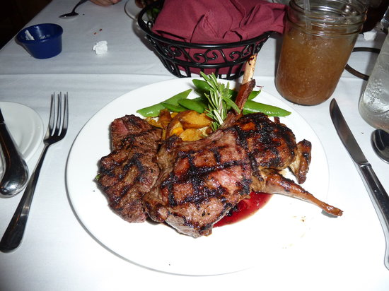 The Fort: Game Plate Entree