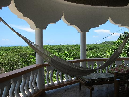 Blue Hole Mineral Spring: View from the Guest Room Balcony