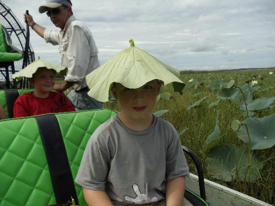 Wild Willy's Airboat Tours: too cute!!