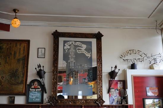 Cafe de Oude Wester: Interior